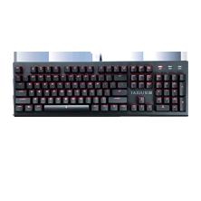 金属师 电子竞技机械键盘 黑面红轴