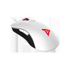 电竞者标准版 TSG301 有线电竞游戏鼠标 白色镜面