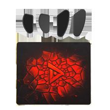 RTS游戏套件(树脂鼠标垫+普通脚贴)