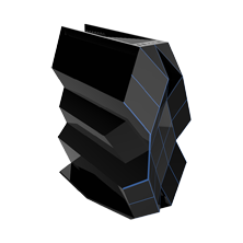 钛度黑晶游戏主机 电竞版
