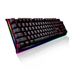 钛度 幻彩师 智能电竞机械键盘 黑色 Cherry黑轴