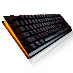 钛度 金属师 电竞机械键盘 黑色 Cherry黑轴